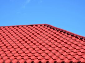 Red Metal roof restored in Sydney