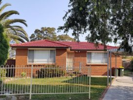 Shot of a home in western Sydney with red restored roof tiles