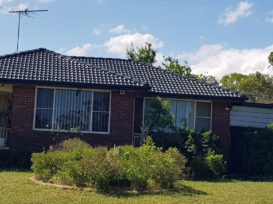 Photo of a home in Sydney's West that has had it's roof restored and painted
