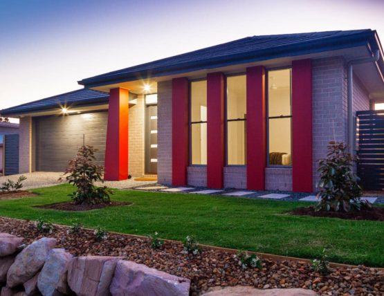 Atmospheric photo of a townhouse in Sydney's west situated at Blacktown